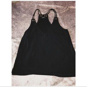 Black Express sleeveless top